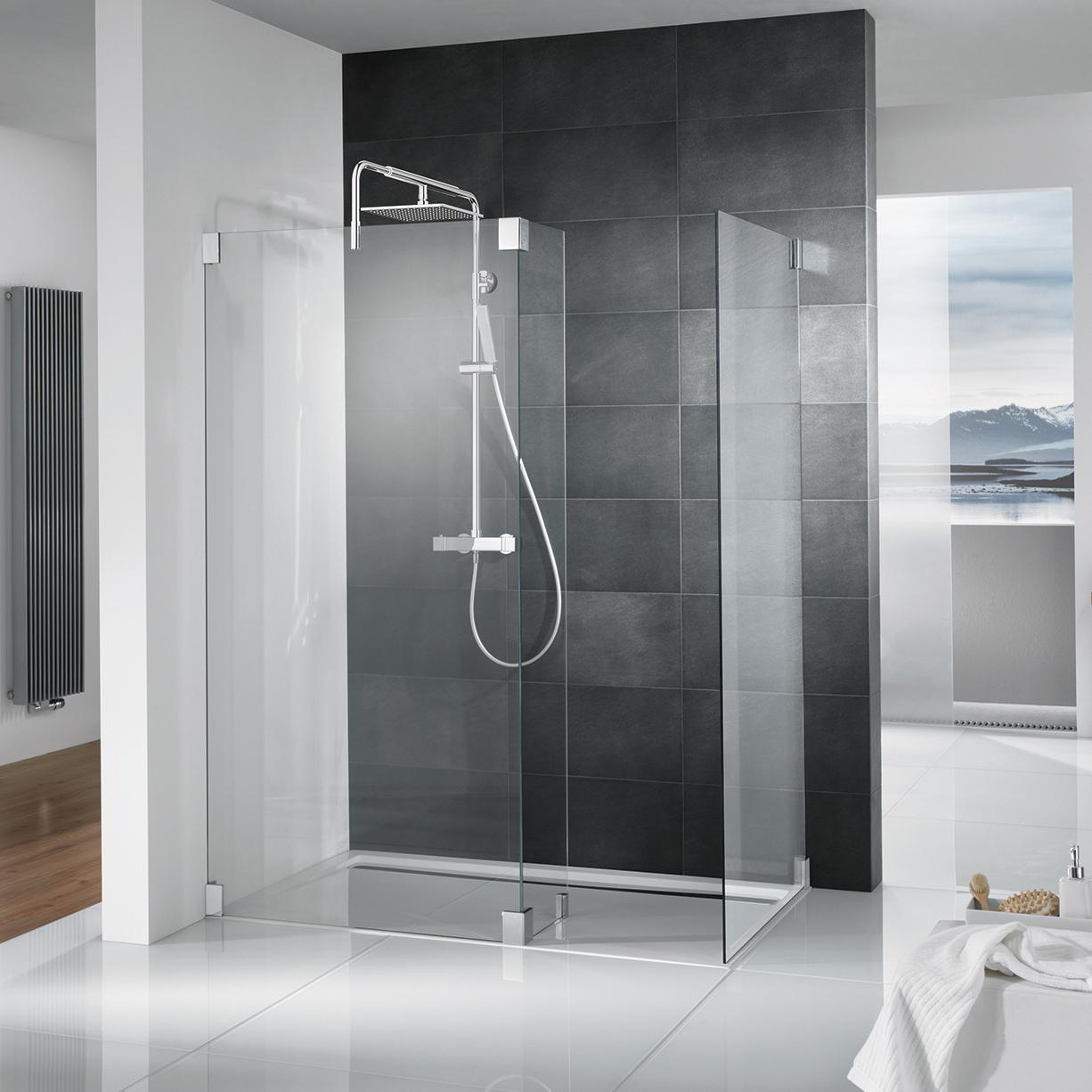 Bekannt Glasduschen und bodengleiche Duschen SC85