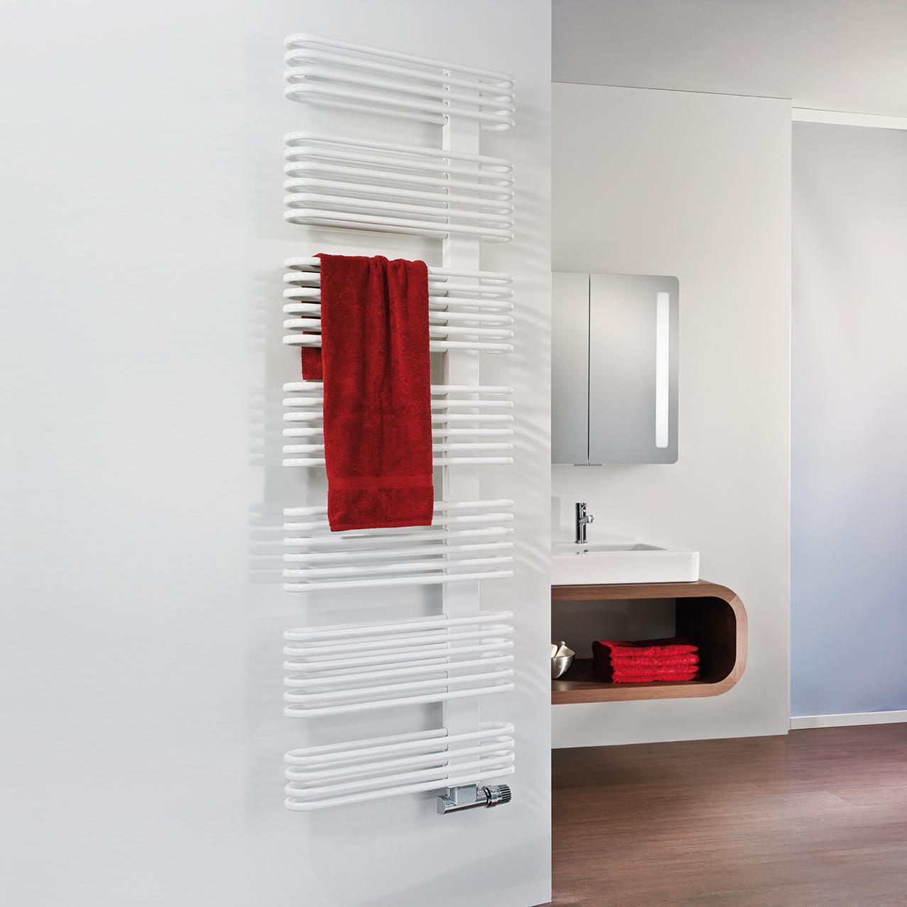 Design-Heizkörper für das exklusive Bad