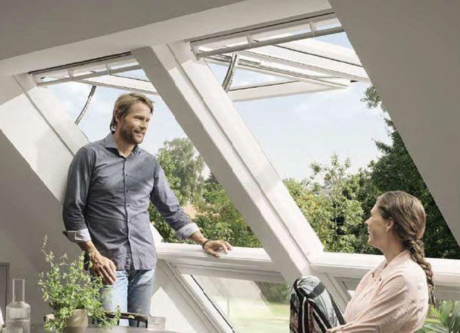 Velux Integra® Elektro-Dachfenster